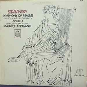 Maurice de Abravanel , Maurice Abravenel Utah Chorale, Utah Chamber Orchestra, Utah Symphony, Stravinsky - Symphony Of Psalms * Apollo download